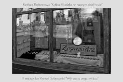 """Jan Konrad Soborowski """"Witryna u zegarmistrza"""""""